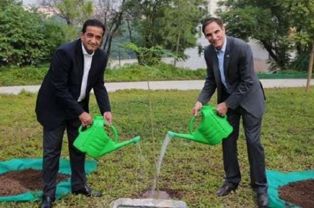 "U.S. Joins Pakistan's ""Ten Billion Tree Tsunami"""