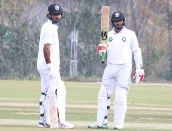 Ashfaq's fourth Quaid-e-Azam Trophy century helps Khyber Pakhtunkhwa collect maximum batting points