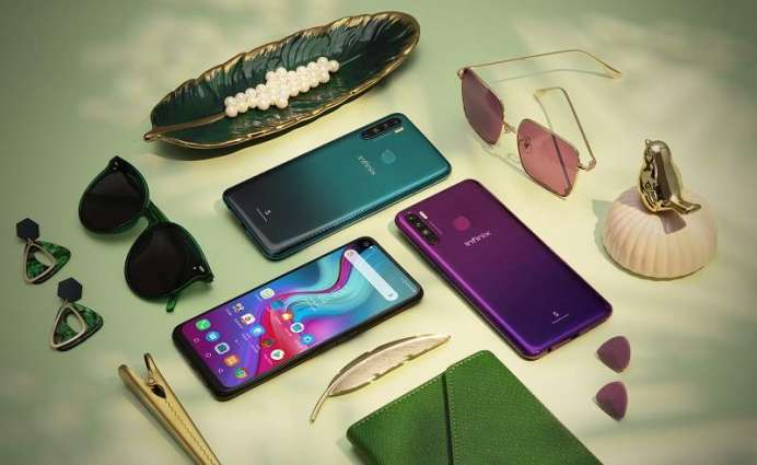 """Redefine viewing experience with the new Infinix S5's6.6"""" Punch Holedisplay"""