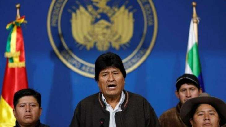 Morales Asks UN, Europe, Catholic Church to Aid Peaceful Solution to Bolivian Crisis