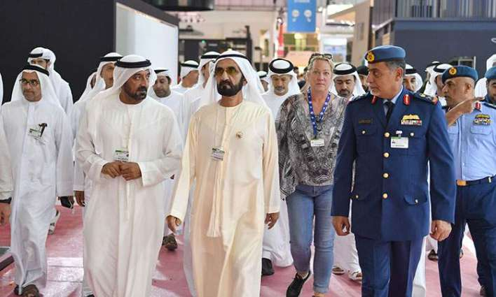Image result for Mohammed bin Rashid and Mohammed bin Zayed Dubai Airshow 2019