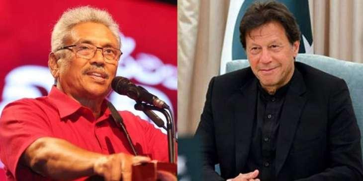 Prime Minister Imran Khan calls Sri Lankan President