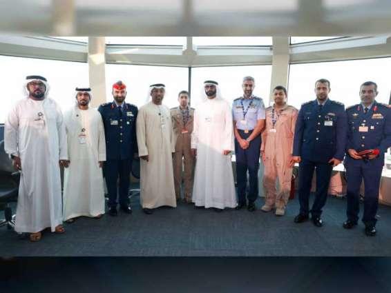 البواردي يزور الشركات المشاركة في معرض دبي الدولي للطيران 2019
