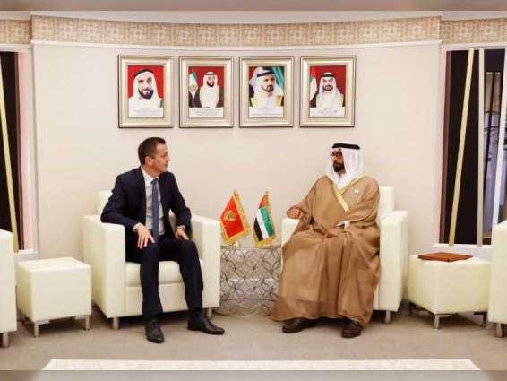 """البواردي يستقبل عددا من ضيوف """"معرض دبي للطيران 2019"""""""