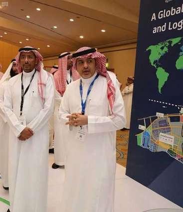 طرح المرحلة الأولى من منطقة الإيداع وإعادة التصدير بالوادي الصناعي لمدينة الملك عبدالله الاقتصادية العام القادم