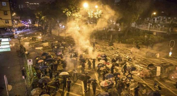 Total of 800 Hong Kong Protesters Already Left PolyU Campus - Police