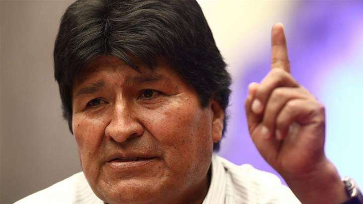 Evo Morales Claims Interim Bolivian Government Plans to Dismiss Parliament