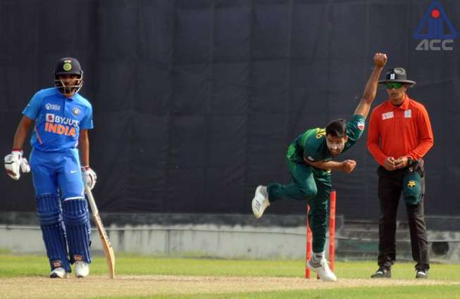 Pakistan beat India by three runs, qualify for final of ACC Emerging Teams Asia Cup 2019