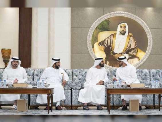 Mohamed bin Zayed accepts condolences of Mohammed bin Rashid, Chechnya's President on death of Sultan bin Zayed