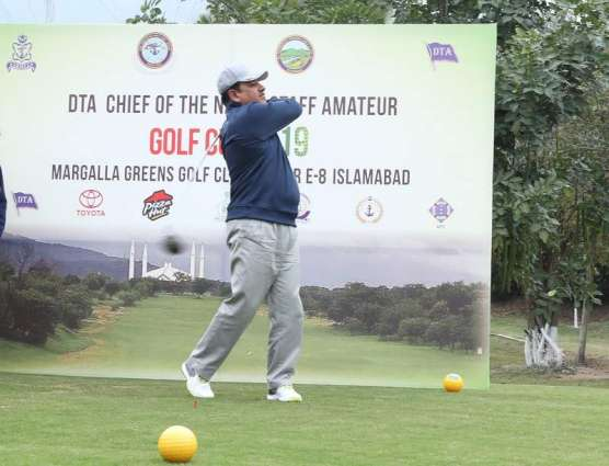 Opening Day Of 13th DTA Chief Of The Naval Staff Amateur Golf Cup At Margalla Greens Golf Course, Islamabad