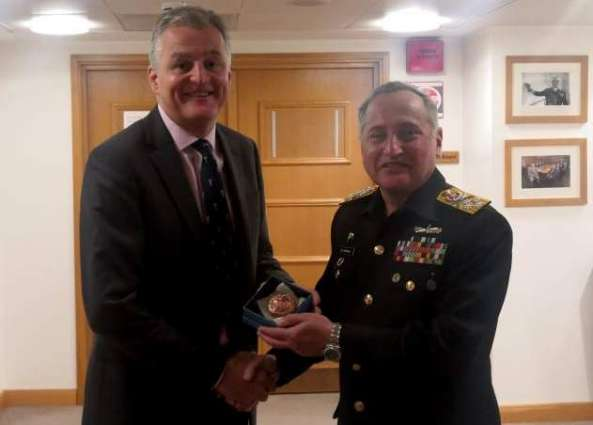 Chief Of The Naval Staff Admiral Zafar Mahmood Abbasi Meets Uk's Military Heads, Speaks At Royal College Of Defence Studies And Interacts With British Think Tank