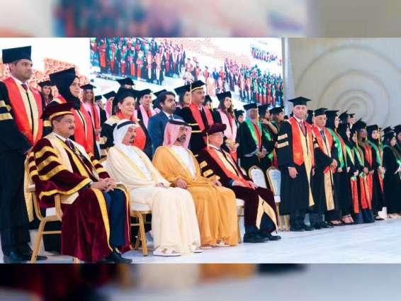Ajman Ruler confers degrees on graduates of Gulf Medical University