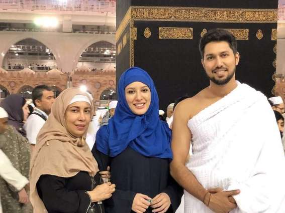 Mehwish Hayat performs Umrah