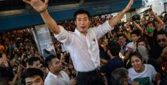 Thousands Stage Rare Rally in Support of Thai Opposition Party