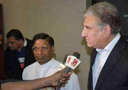 Foreign Minister Shah Mahmood Qureshi reaches Sri Lanka on two-day official visit