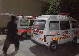 Three killed in road mishap in Sargodha
