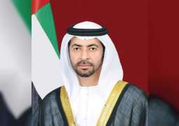 Hamdan bin Zayed briefed about ERC's efforts to rescue victims of earthquake in Albania