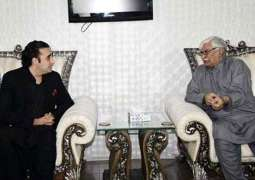 PPP Chief meets ANP KP chapter president Wali Khan