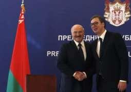 Serbian President Thanks Lukashenko for Visit During 1999 NATO Bombings