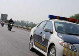Motorway police recover large amount of drugs from car