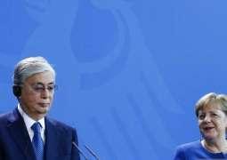 Kazakh President, German Chancellor Discuss Bilateral Relations, Economic Cooperation