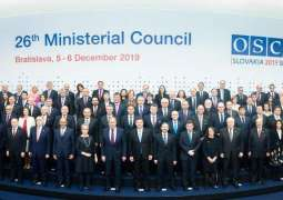 OSCE Chair Calls for Multilateral Cooperation to Settle Conflicts, Build Peaceful Future