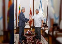 Sri Lankan President receives UAE Ambassador in Colombo