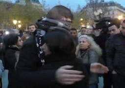 Stray Grenade Shard Hits RT Reporter at Paris Strike Protest