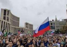 Moscow Court Fines July Protester Novikov $1,880 for Using Force Against Police