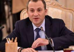Lebanese Foreign Minister Bassil Says New Gov't Formation to Start Monday