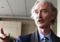 Pedersen Confirms Will Take Part in Syria Talks Next Week