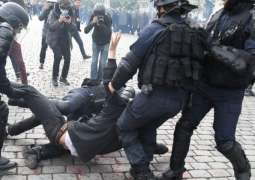 Greek Police Detain About 80 People During Violent Riots Across Country