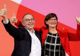 Germany's SPD Loses Support After Electing Anti-Coalition Leadership Duo - Poll