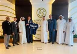 Melbourne Victory delegation visits Dubai Sports Council
