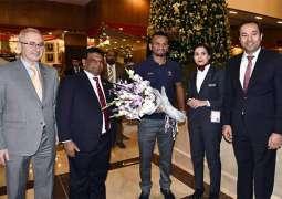 Sri Lanka team reach Islamabad amid beefed up security