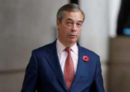 UK Brexit Party Leader Farage Appeared on Far-Right US Radio Show - Advocacy Group