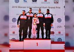Rashid Al Dhaheri wins Macau International Kart Grand Prix Championship