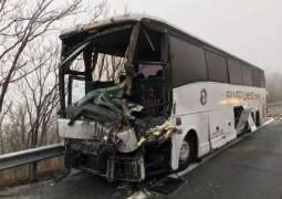 Over 50 People Hospitalized After Bus Accident in Northern China - Reports