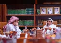 Ajman Ruler reviews Humaid bin Rashid Charity Foundation budget
