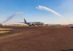 Emirates Touches down in Mexico City