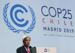 Guterres Says Eco Activists Not 'Adversaries,' Green Economy Can Generate Millions of Jobs