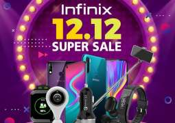 Tremendous response by the customers on Infinix 12.12 grand sale