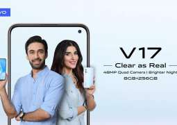 Vivo V17 Launched in Pakistan, Users will Now See the Brighter Nights