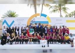 Winners of Dubai Women's Triathlon honoured