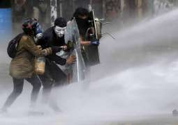 Chilean Police Used Water With Potentially Lethal Caustic Soda Against Protesters - Report
