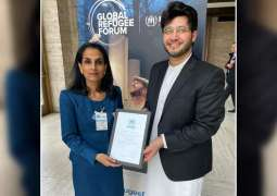 UNHCR appoints Javed Afridi Refugee Youth Ambassador