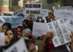 India police ban protests against citizenship law