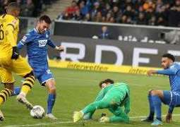 Hoffenheim comes from behind to beat Borrussia