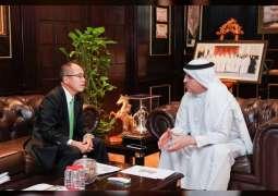 القنصل العام الياباني يشيد بجهود كهرباء دبي في تعزيز مسيرة الاقتصاد الأخضر