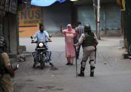 Indian police arrest 8 youth in occupied Kashmir